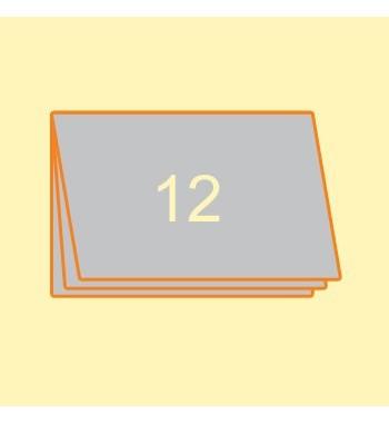 Broschüre A4 quer, 12 Seiten