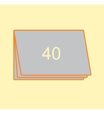Broschüre A4 quer, 40 Seiten