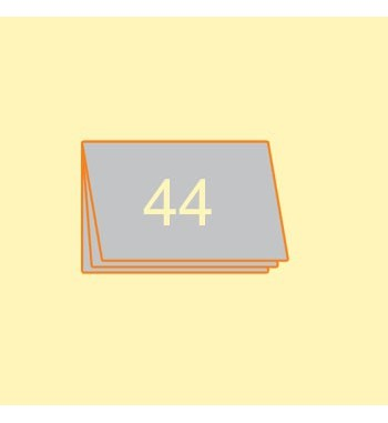 Broschüre A5 quer, 44 Seiten