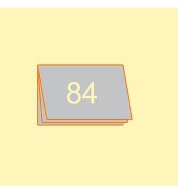 Katalog A5 quer, 84 Seiten