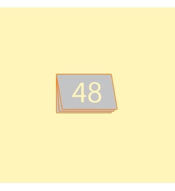 Broschüre A6 quer, 48 Seiten