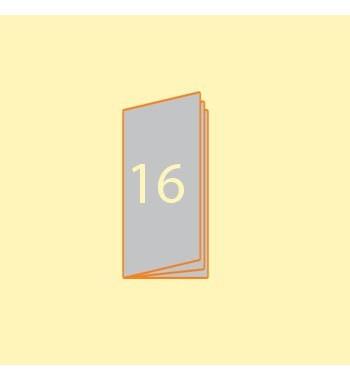 Broschüre DIN L hoch, 16...