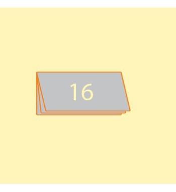 Broschüre DIN L quer, 16...