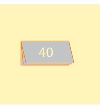 Broschüre DIN L quer, 40...