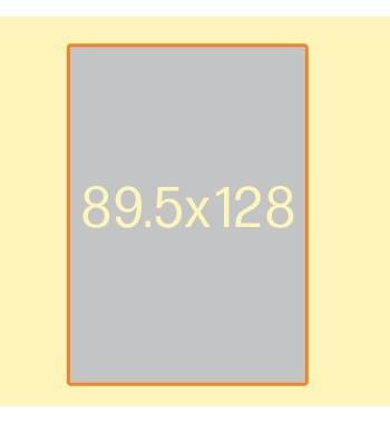 Plakat F4, 89.5 x 128 cm