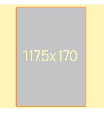 Plakat F200, 117.5 x 170 cm