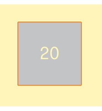 Broschüre 210 x 210 mm, 20...