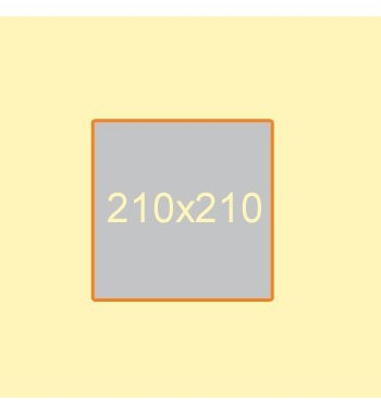 Flyer 210x210 mm, 2 Seiten
